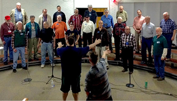 Rehearsal Night with Land of the Sky Chorus